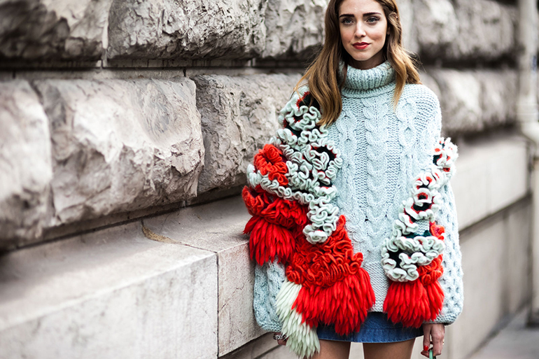 Chiara Ferragni Paris Fashion Week Street Style