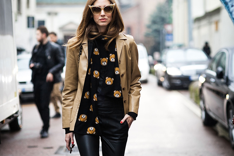 Chiara Ferragni Milan Fashion Week Street Style