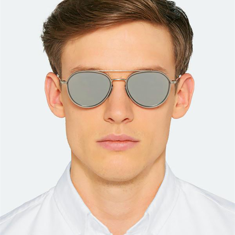 Thom Browne Aviator Pilot Sunglasses 2015 Designer Sunglasses TB 801