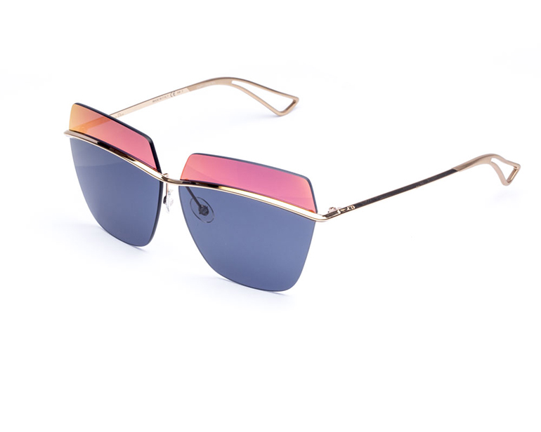 Dior 2015 mirror lenses sunglasses metallic collection eyewear