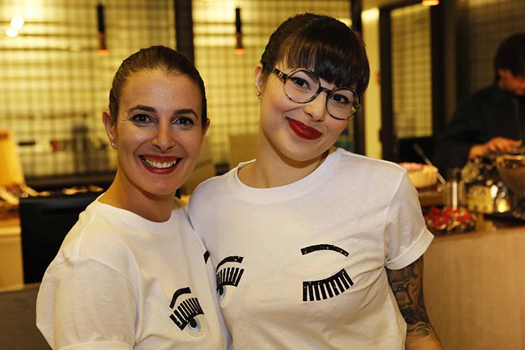 Colaboradoras Eva e Lilibel